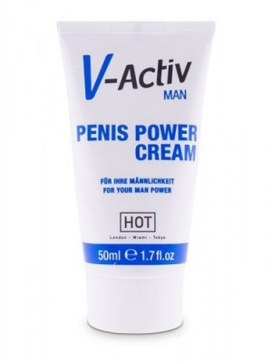 HOT V-ACTIV Penis Power Cream / Erkek İcin