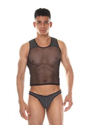 Erkek Transparan Alt ve Üst Giyim