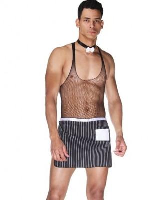 Erotik Erkek Garson Kostümü