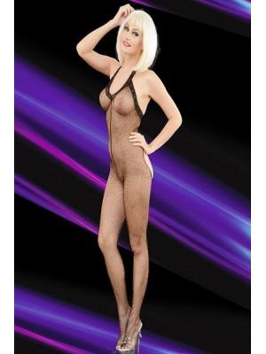 Basen Dekolteli File Kadın Vücut Çorabı