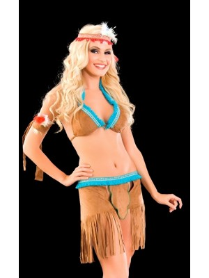 Erotik Bayan Apaçi Kostümü
