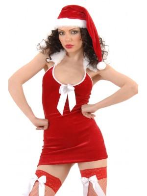 Seksi Noel Kadin Yeniyıl Kıyafeti